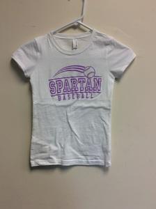 Youth Next Level Glitter T-Shirt - Baseball - Clearance